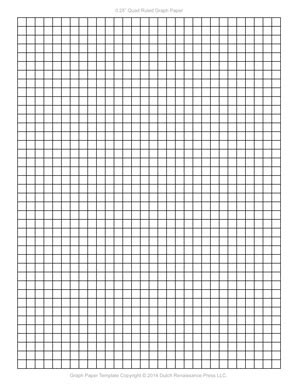 Graph Paper Template, 8.5x11 Letter Printable PDF