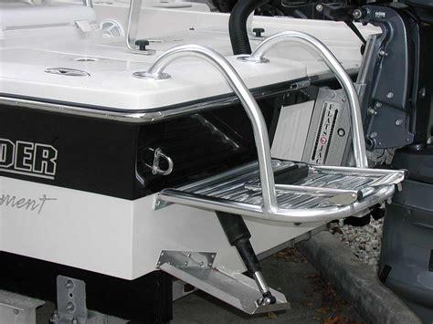 boat swim platform handrails custom dive swim platforms by action welding cape coral