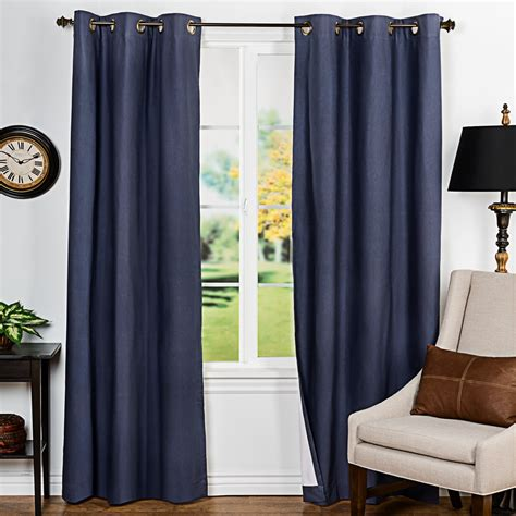 slate blue drapes insulated drapes drapery room ideas