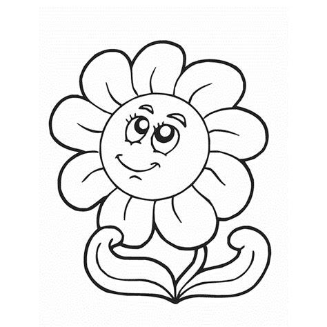 Imagenes De Flores Sin Pintar | 60 im 225 genes de flores para colorear dibujos colorear