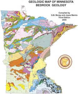 state geology data minnesota