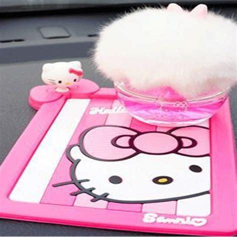 Hello 3d Car Dashboard Anti Slip Pink hello 3d car dashboard anti slip mat for smartphone