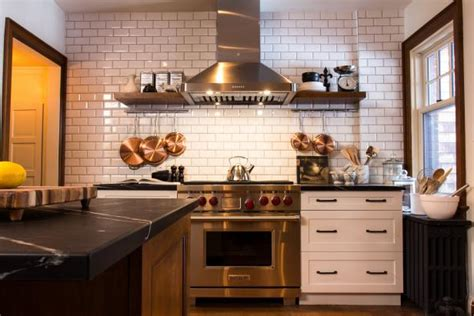 small kitchen backsplash ideas pictures 9 kitchens with show stopping backsplash hgtv s
