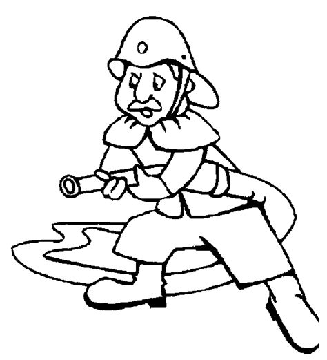 Fireman Quot Fire Fighter Quot Printable Coloring Pages Fireman Coloring Pages