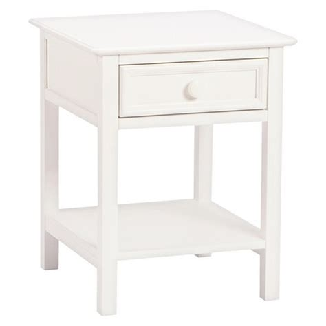 Target Nightstand White by Wakefield 1 Drawer Nightstand White Bolton Furniture