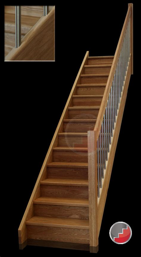 New Stair Banister Stairs Uk Timber Stair Manufacturers Wooden Stairs From