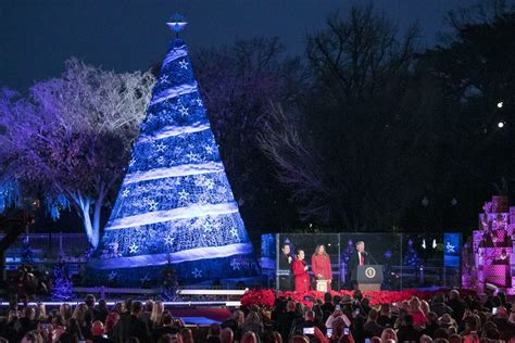 when is the christmas tree lighting 2017 the 2017 national christmas tree lighting the texas tenors