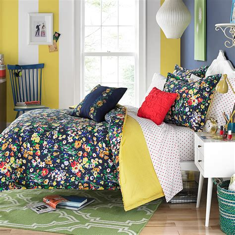 teen floral bedding teen vogue folksy floral bedding collection from