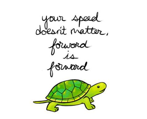 Your speed doesn t matter forward is forward