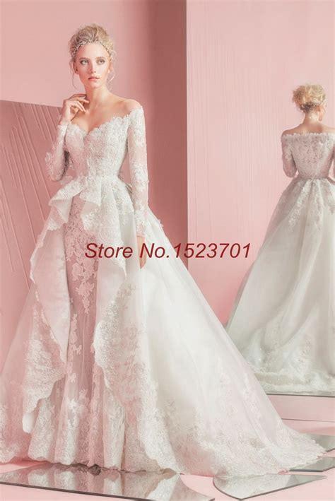 2016 zuhair murad mermaid wedding dresses long