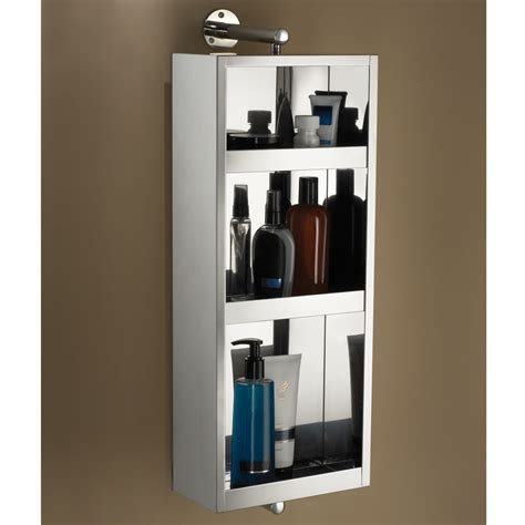 the rotating bath cabinet mirror hammacher schlemmer