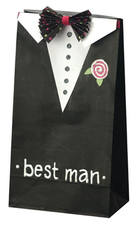 Best Man Gift Bag   FaveCrafts.com