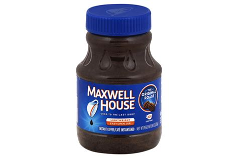 maxwell house instant coffee maxwell house original roast instant coffee 8 oz jar kraft recipes
