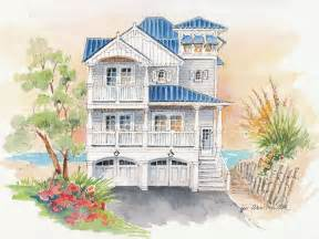 Beach House Home Plans by Plan 041h 0138 Find Unique House Plans Home Plans And