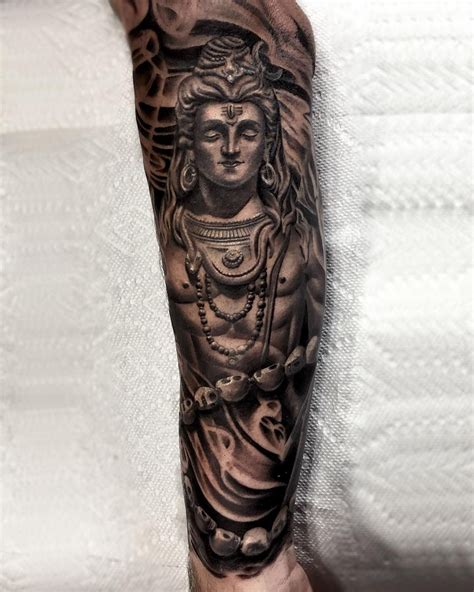 tattoo designs of lord shiva shiva god statue tattoos shiva