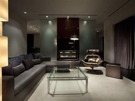 masculine interior design apartment in luxury las vegas property