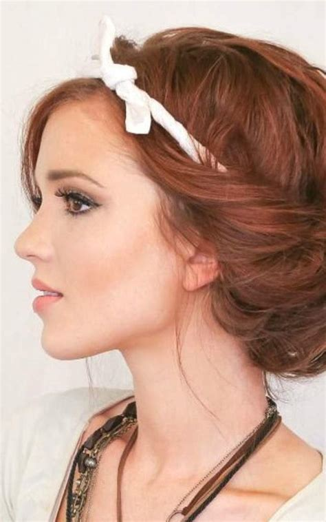 konde rambut pendek modern gambar model rambut sanggul modern