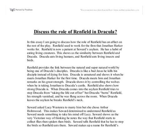 Dracula Essay by Dracula Essay