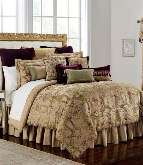 waterford carlotta bouquet comforter set dillards