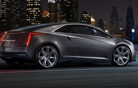 cadillac elr electric car cadillac elr electric car pursuitist