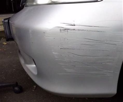 how to repair plastic bumper scratches primer cl and sprays