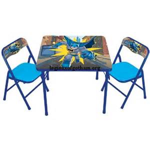 batman table and chairs dc friends fisher price batman dc friends