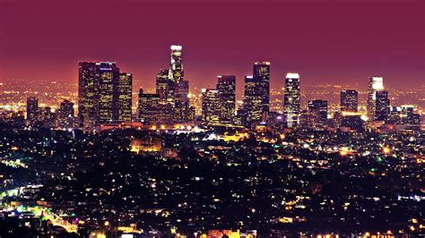 los angeles city los angeles city desktop wallpaper