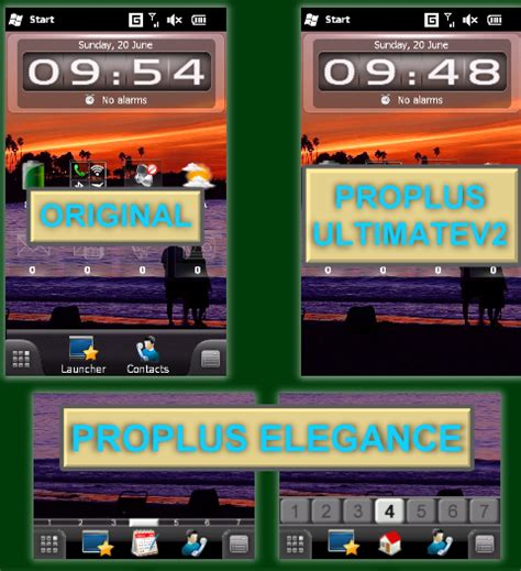 mobile themes vxp file proplus freedom theme for spb mobile shell