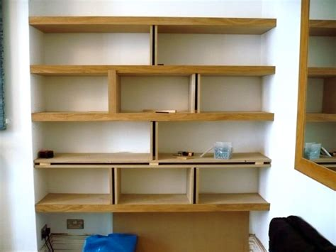 Pictures Of Shelves | alcove shelving richard sothcott brighton carpentry