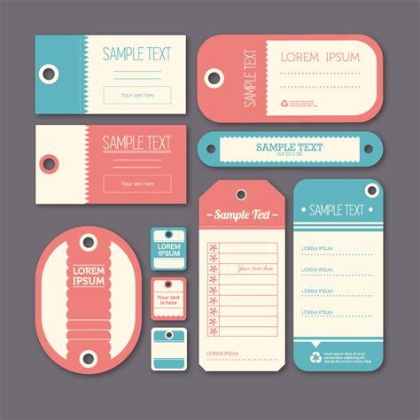 design label in html elegant label design vector free vector graphic download
