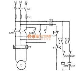 three phase motors for jog commutation circuit relay