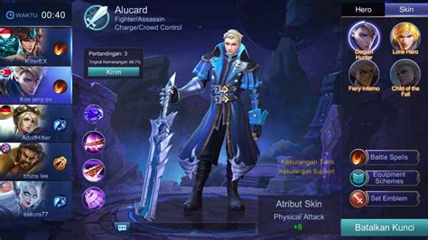 Kaos Mobile Legend Of Allucard Skin finally alucard mobile legends moba amino
