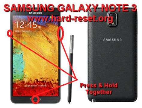 reset on samsung note 3 how to easily master format samsung galaxy note 3 gt n9000