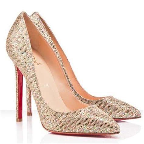 Boot Heels Replika Vic 571 christian louboutin pigalle 120mm glitter gold