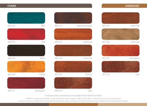 wood colour varnish wcv paint
