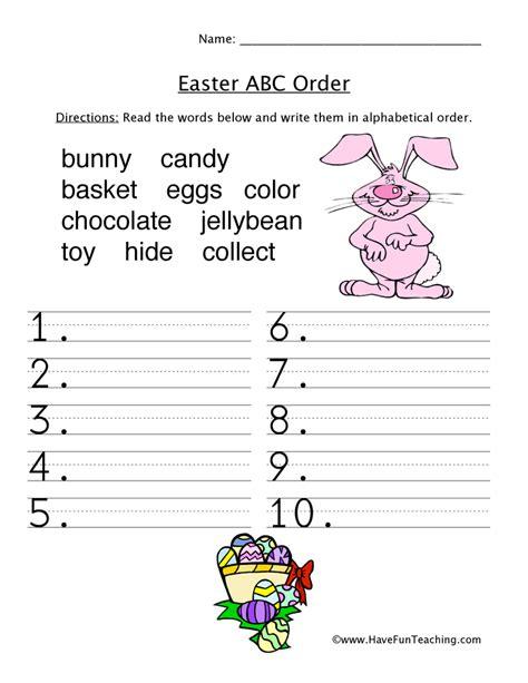 easter worksheets teaching