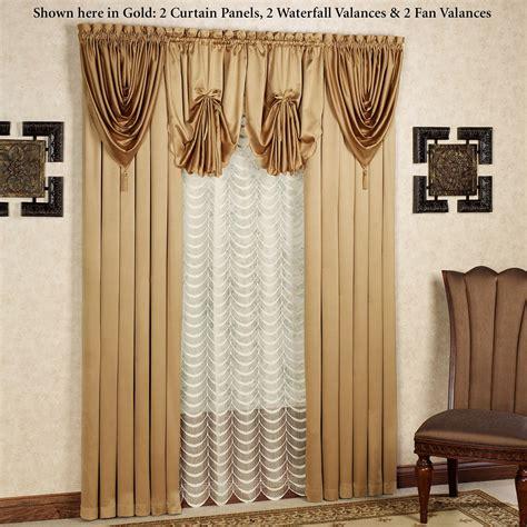 Satin Curtains Concord Satin Window Treatment