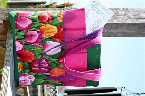 garden tote bag pattern free patternpile com sew quilt knit and crochet fun