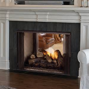 two sided ventless fireplace monessen lo rider see through vent free firebox woodlanddirect indoor fireplaces gas