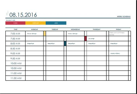 excel template calendar monthly printable