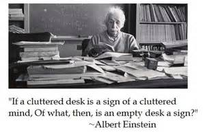 angry angry guru cluttered desk is sign of cluttered mind