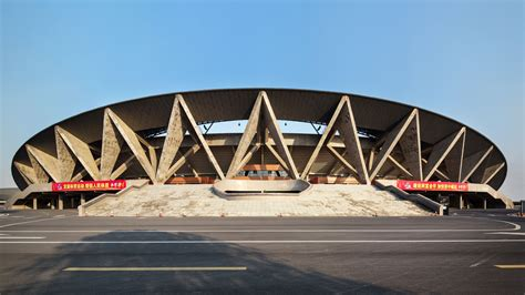 sports center  jinhua city  architectural design