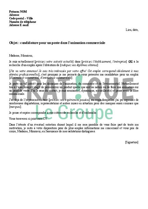 Lettre De Motivation Vendeuse En Parfumerie Gratuit Lettre De Motivation Animatrice Parfumerie Ccmr