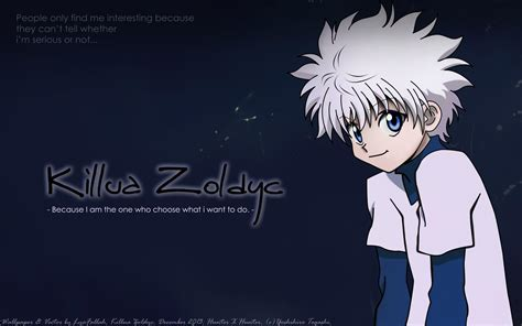 hunter x hunter wallpaper for laptop killua wallpapers wallpaper cave