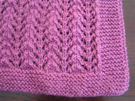 knitting pattern quick baby blanket easy to knit lacy baby blanket pattern in dk ebay