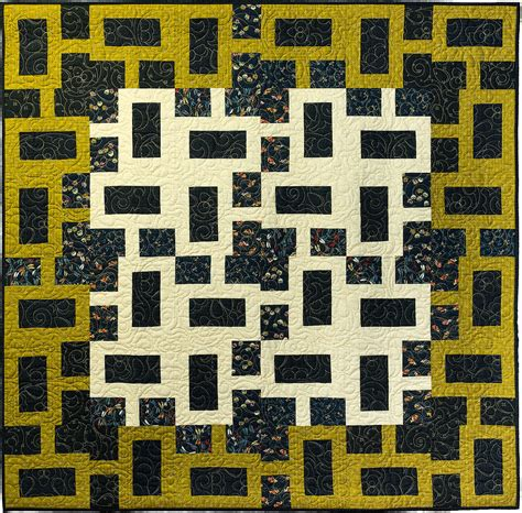 Geometric Quilt Patterns by Chain Link Modern Geometric Quilt Pattern Quilts By Jen