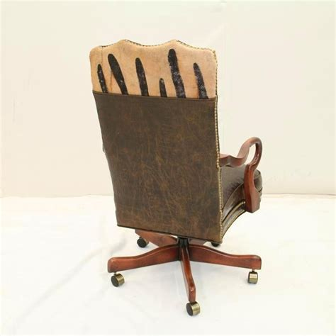 Rustic Office Chair by Rustic Desk Chair Western Desk Chair Western Office Chair