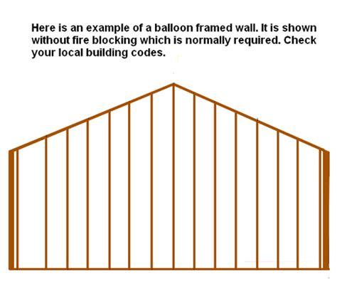 Gable End Wall Framing Gable End Walls Self Help Forums