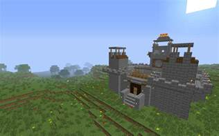 mount and minecraft pvp castle defends minecraft project