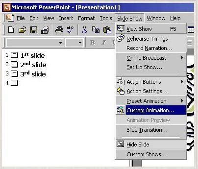 membuat power point otomatis membuat animasi power point sharing